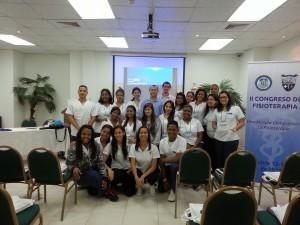 Conferencia dictada por Edwin Valdés  en el II  Congreso de Fisioterapia de la Universidad Latina con el tema: Técnicas Gonstead