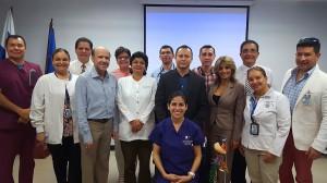 """Conferencia dictada por Edwin Valdés  con el tema: """"La Osteopatía Dinámica"""" en la CSS de San Francisco-Ciudad de Panamá"""