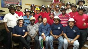 Conferencia dictada por Edwin Valdés  a el Insigne y honorable cuerpo de Bomberos de la estación Central con el tema: El Cuidado de la Columna