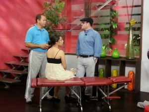 Edwin Valdés con el tema: Los Dolores de Espalda en Telemetro-canal 13
