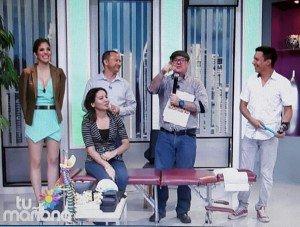 Edwin Valdes con el Tema: Las Dorsalgias( dolores de la espalda media) en el programa Tu Mañana-canal 13