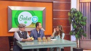 Edwin Valdés con el tema: Los Dolores Cervicales(cuello) en Telemetro- canal 13